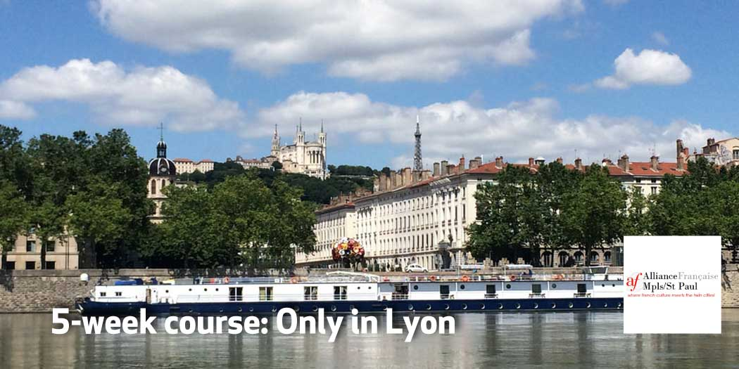 5-week topic class: Only in Lyon