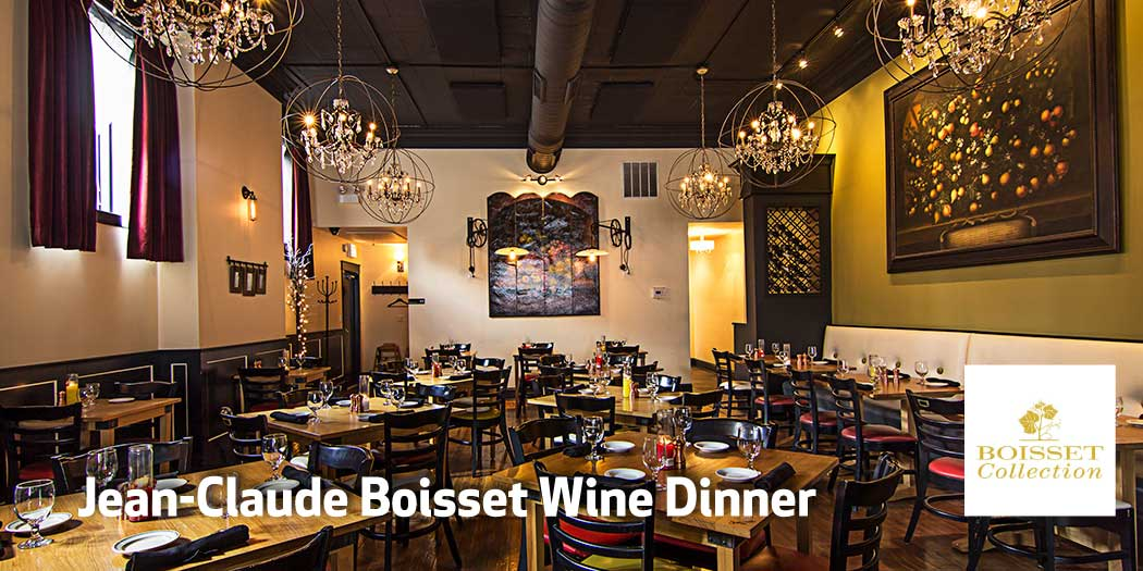 Jean-Claude Boisset Wine Dinner