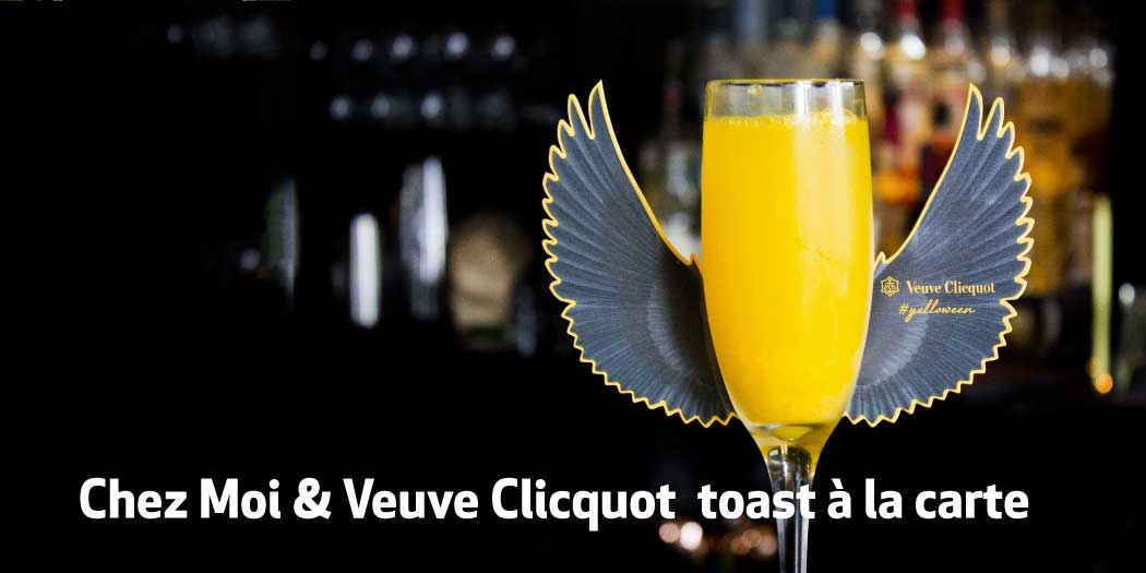 Join Chez Moi & Veuve Clicquot to toast à la carte