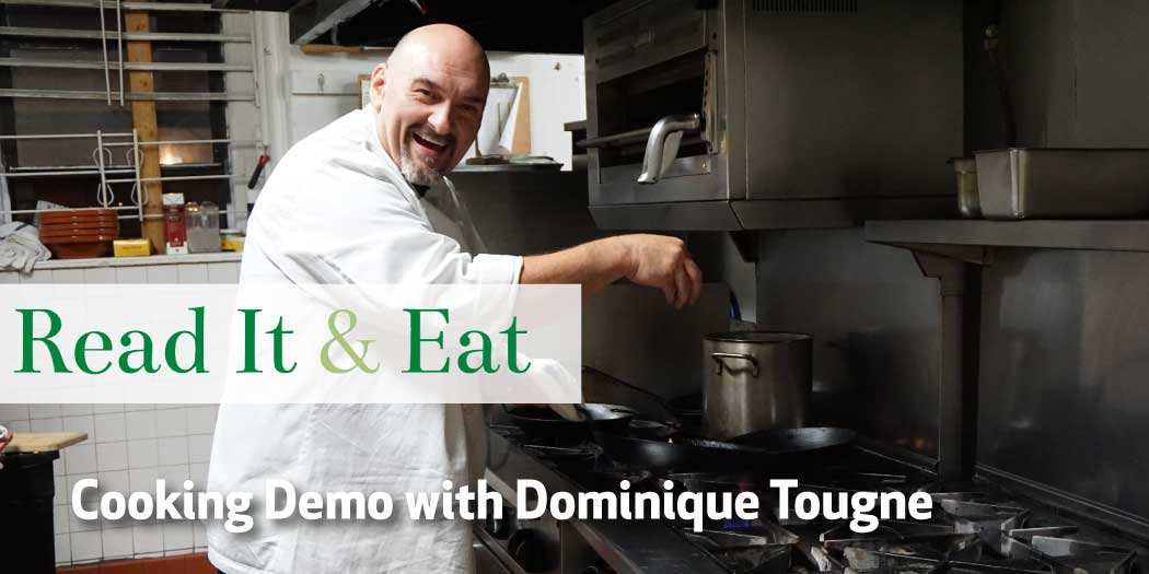 Cooking Demo with Dominique Tougne