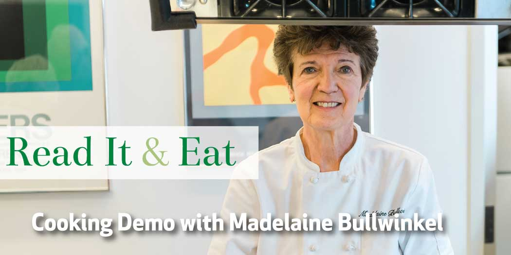 Cooking Demo with Madelaine Bullwinkel
