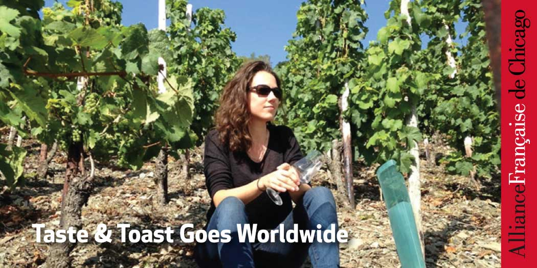 Taste & Toast Goes Worldwide